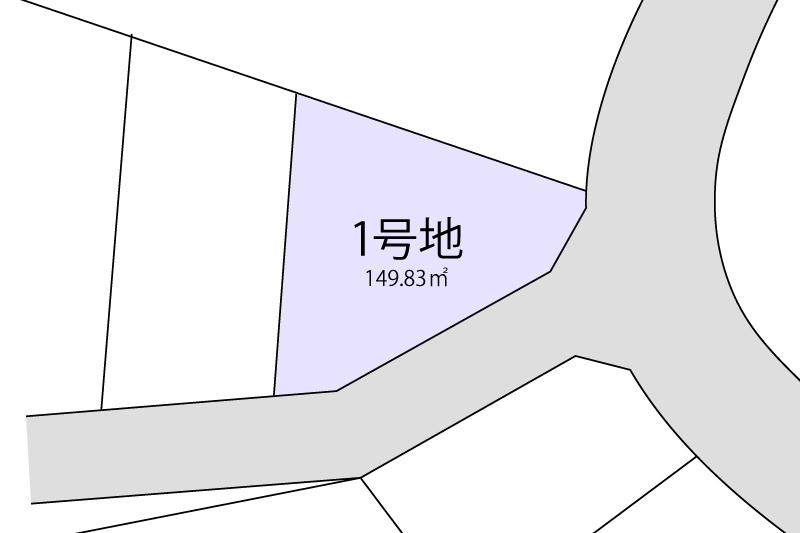 1号地拡大図