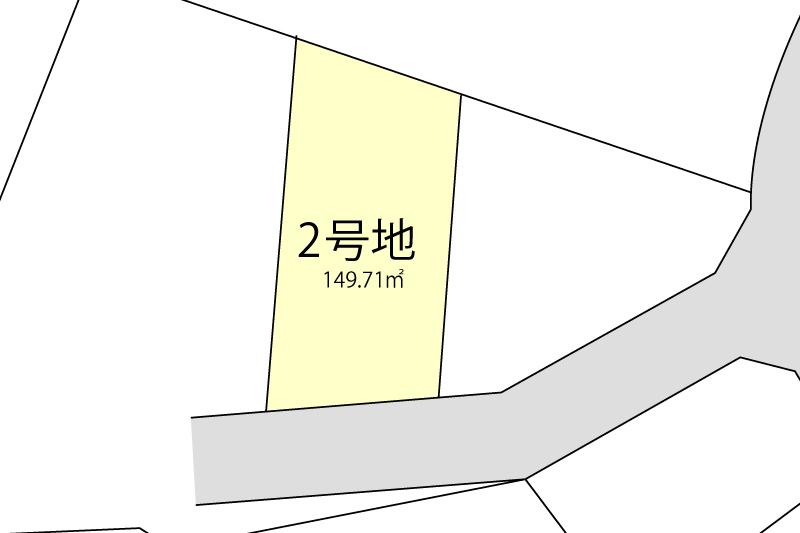2号地拡大図