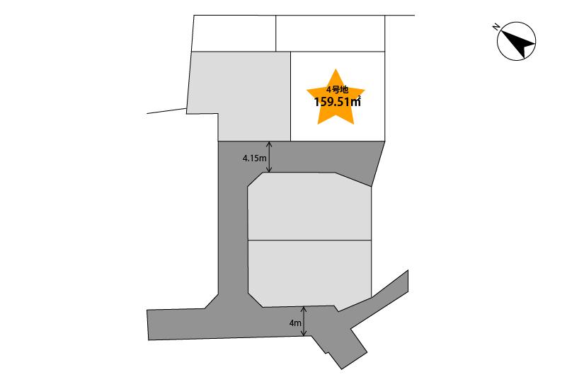 4号地区画図