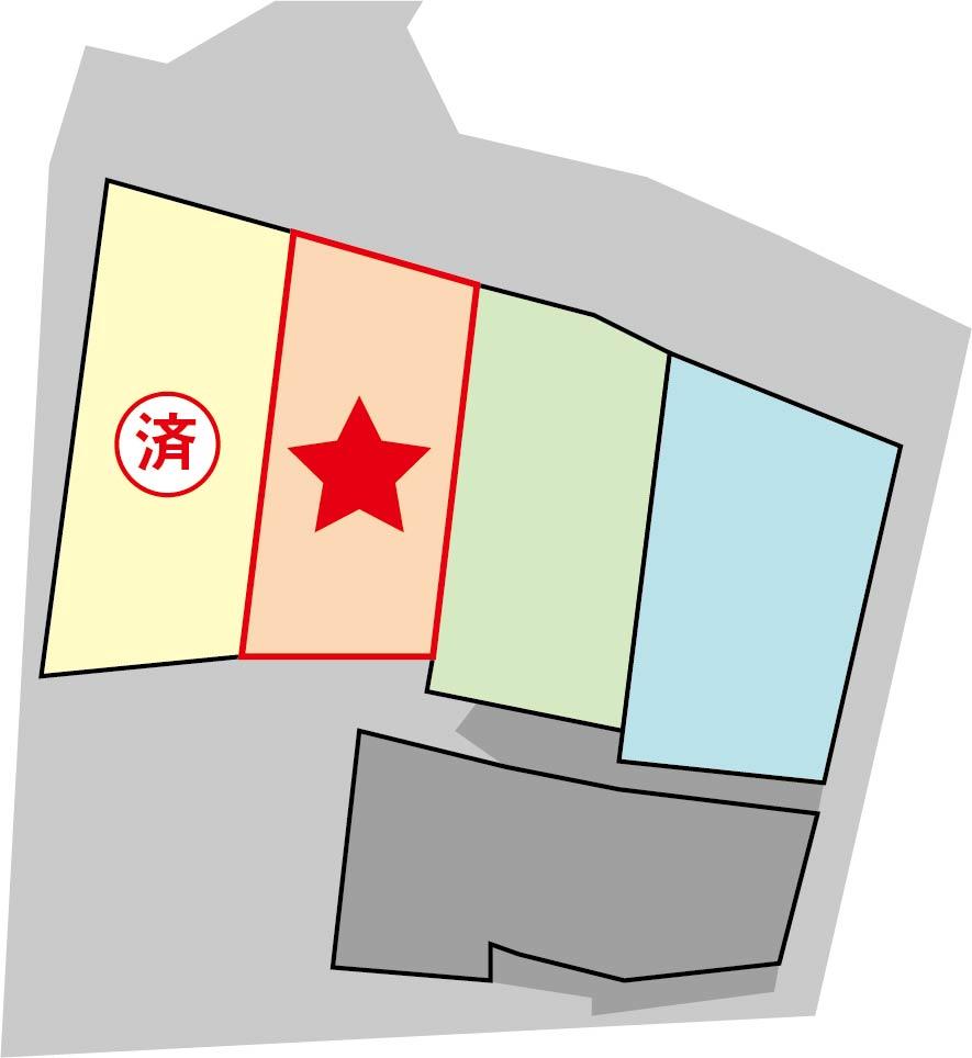 完成予想区画図(2号地)