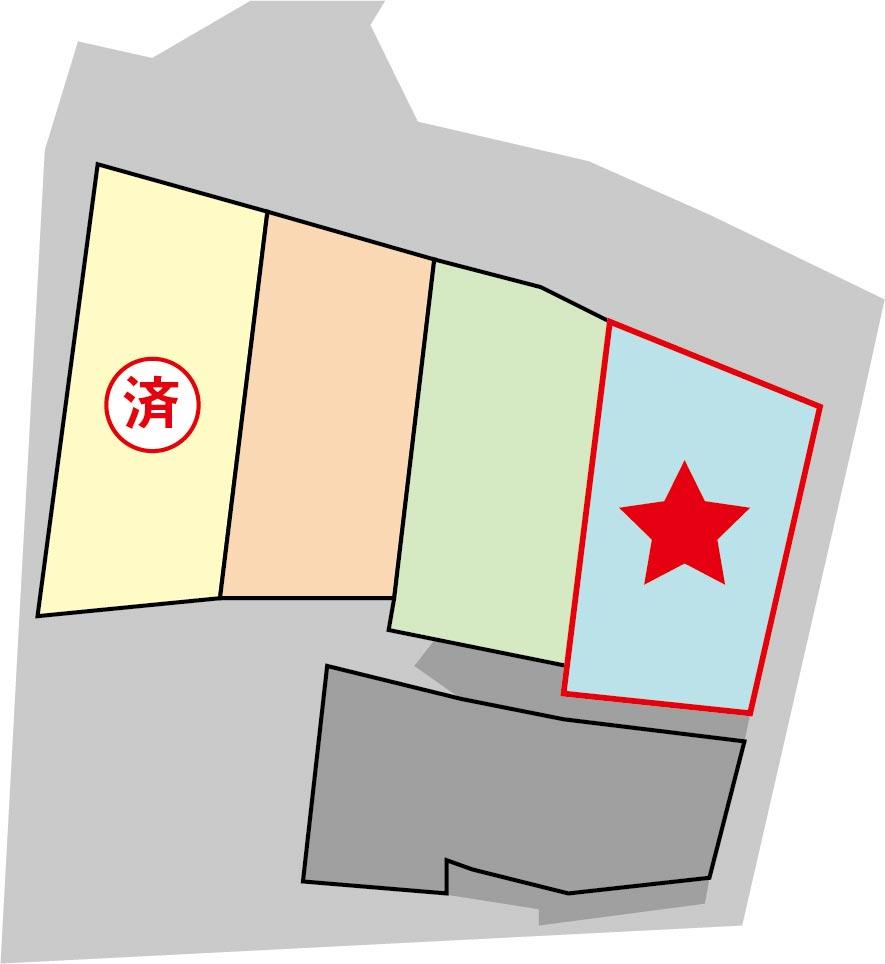 完成予想区画図(4号地)