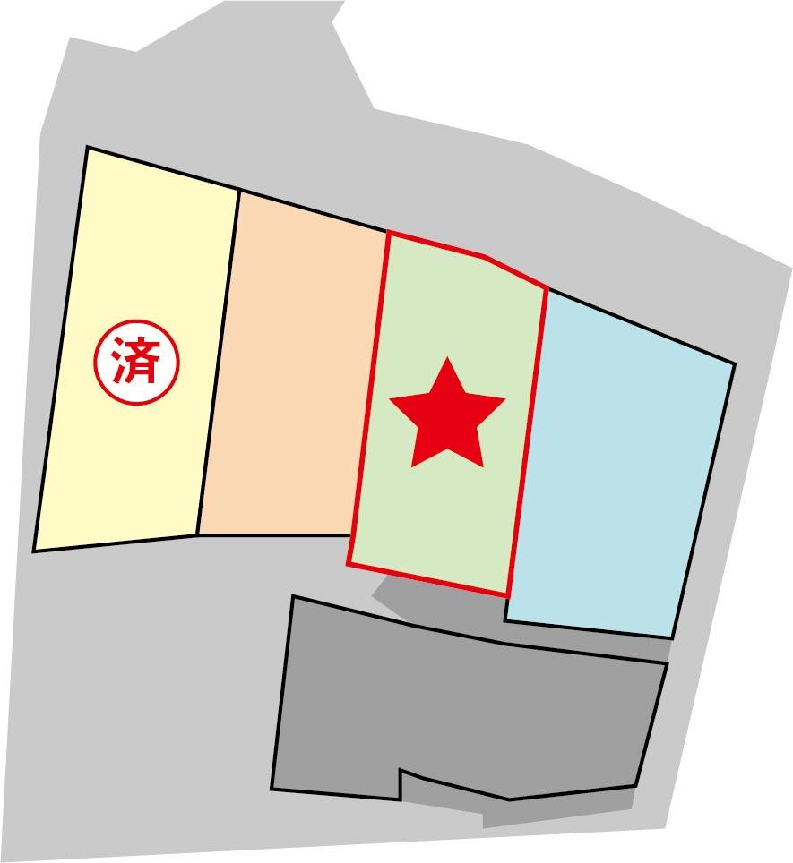 完成予想区画図(3号地)